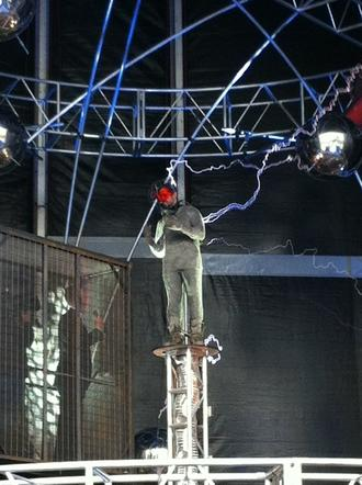 David Blaine and Electricity