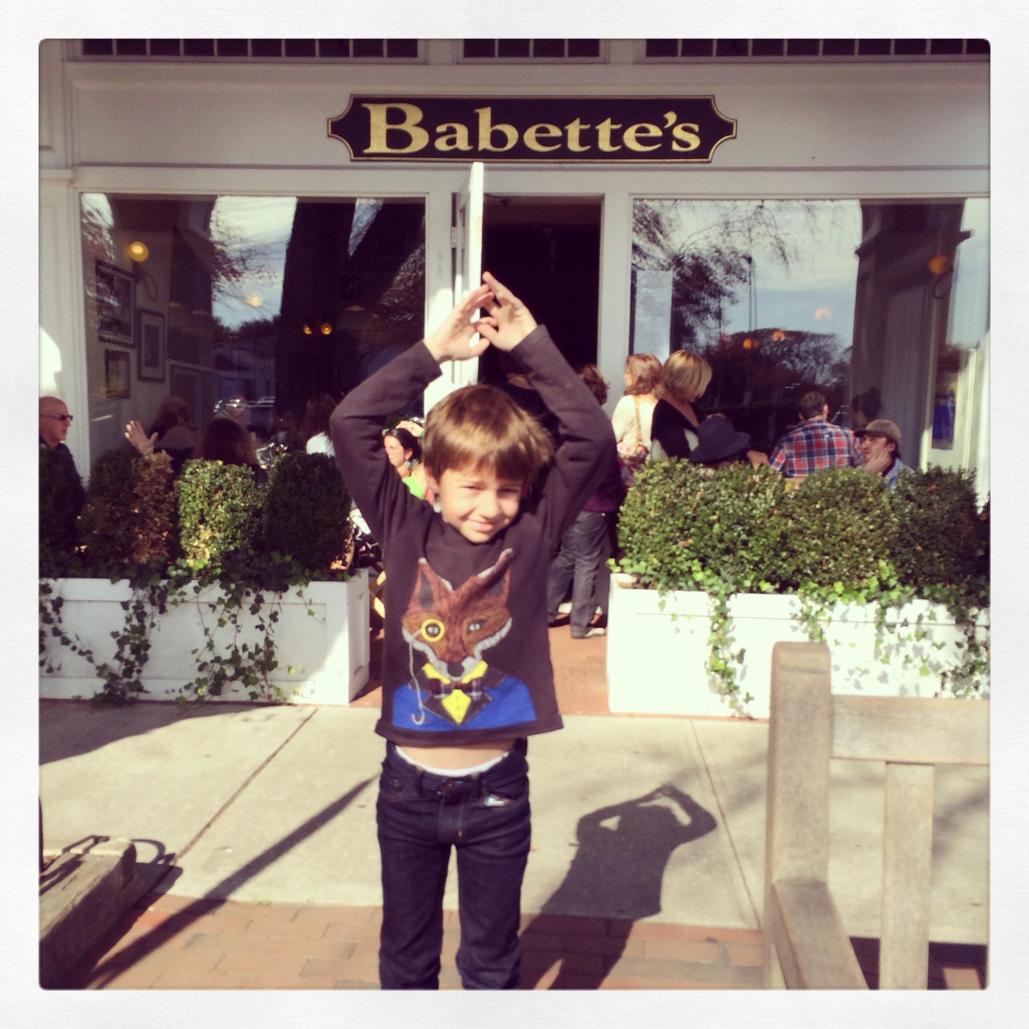 Babette's was a hit!