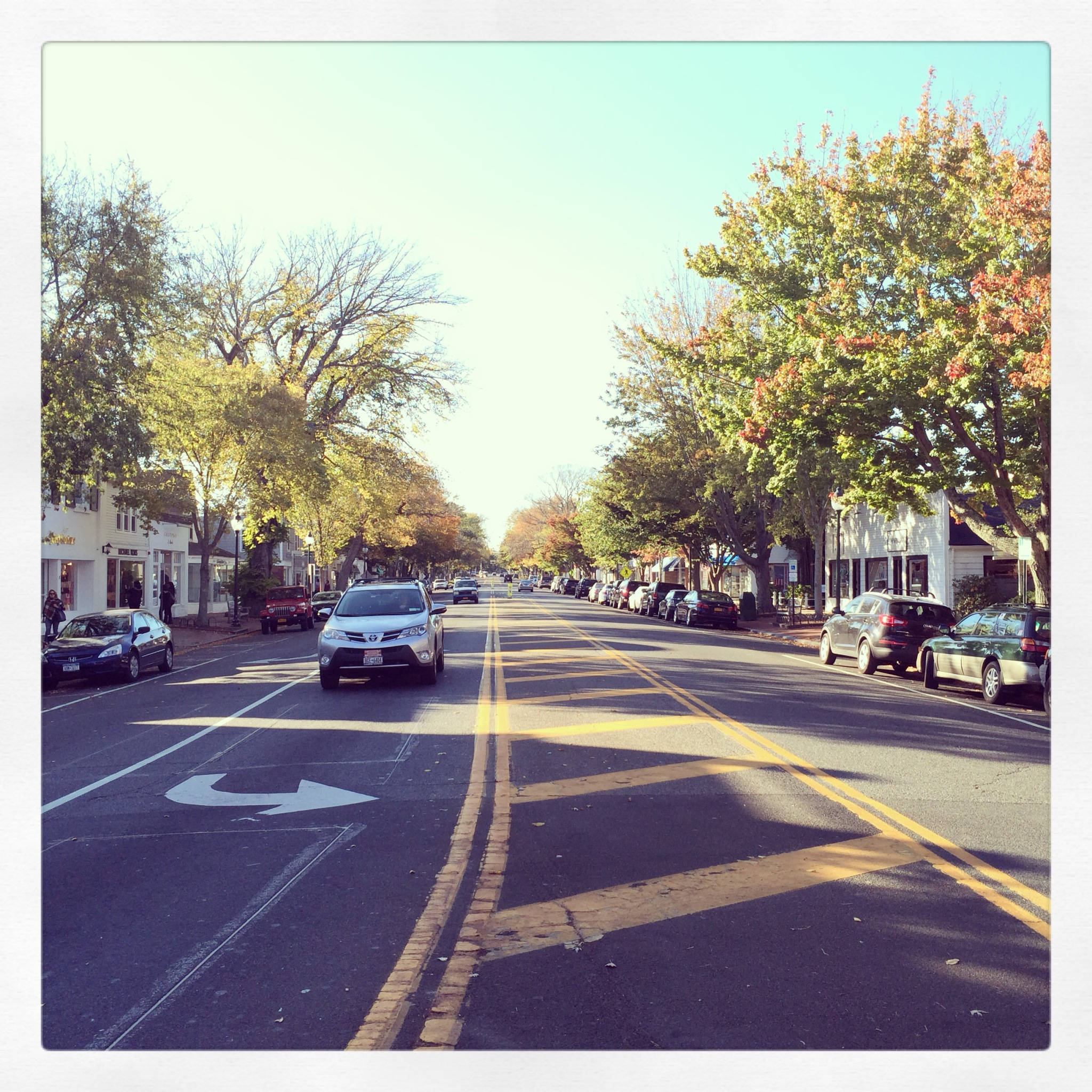 Small town East Hampton