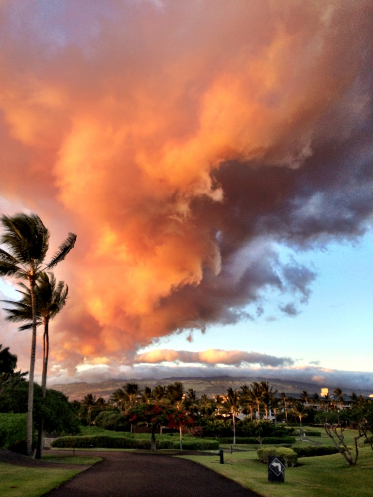 Hawaii cloud video in Kahalo
