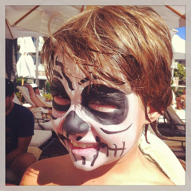 Facepaint Creature from the Paintbox Girls