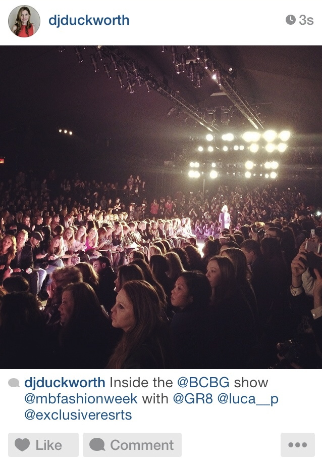 BCBG Fashion Show Lincoln Center