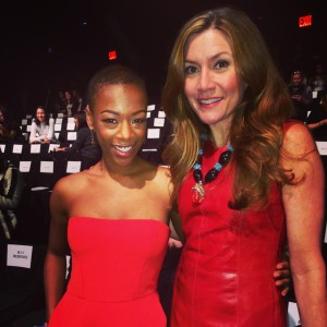 Samira Wiley DJ Duckworth BCBG Lincoln Center Mercedes Benz Fashion Week