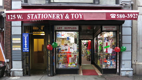 Stationery and Toy David W. Dunlap/The New York Times