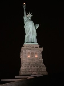 Statue of Liberty after Dark