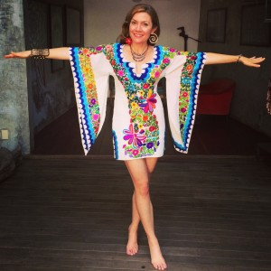 Mexican Dress at Pachamama
